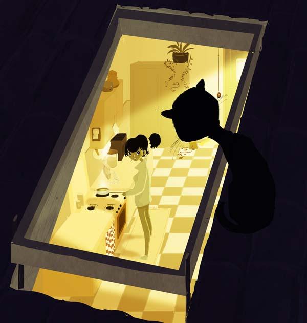 Кухня и профиль 2/4 Отшельник-Оппортунист на ней