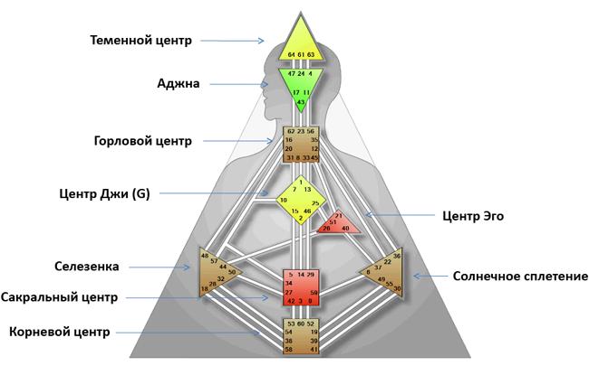 Персональная карта дизайн человека