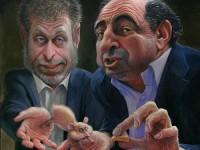 Олигархи подкармливают крысёныша
